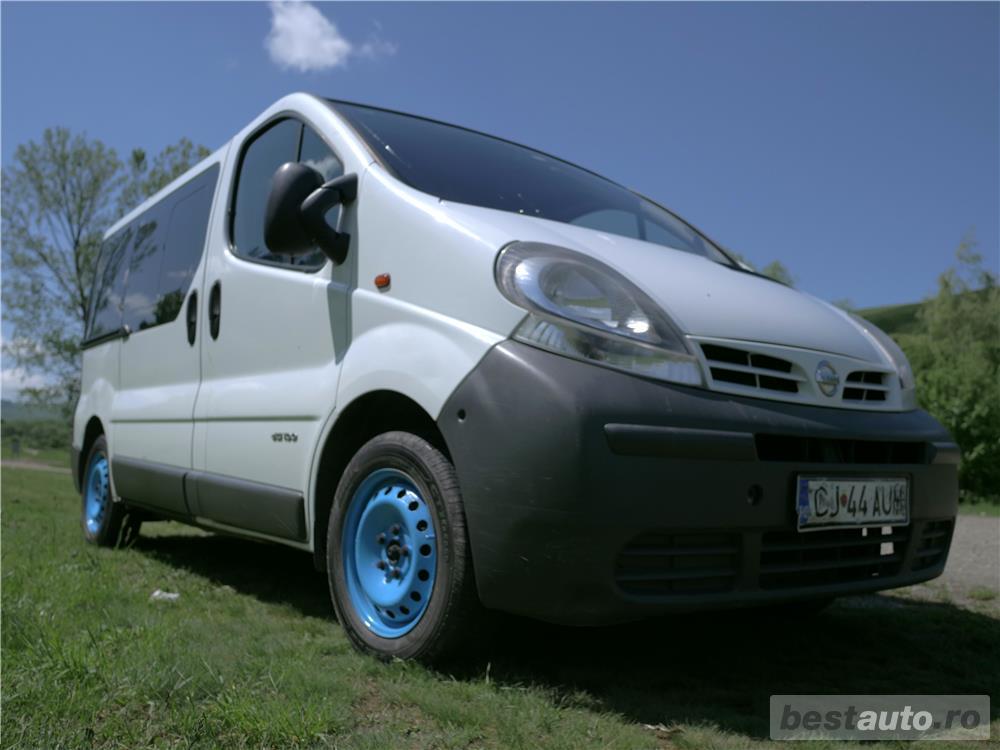 Nissan Primastar identica cu Renault Trafic si Opel Vivaro 4100 euro