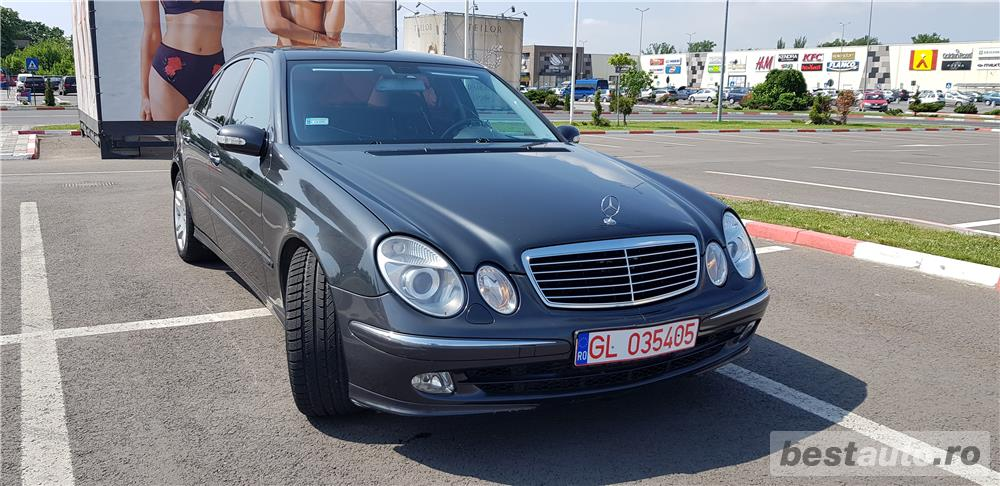Mercedes E-270.VAND-SCHIMB/ Avantgarde,AUTOMATA,senzori,177 CP,FULL,mag. 6 CD-uri,VOPSEA ORIGINAL