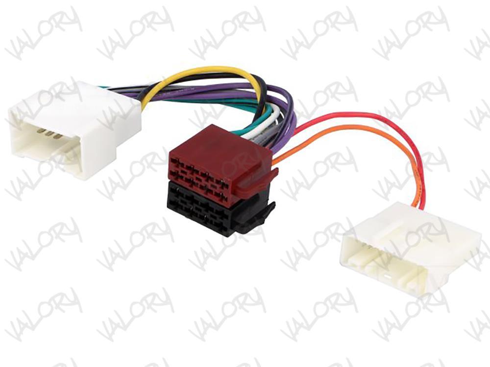 Cablu adaptor radio CD MP3 player ISO Dacia Opel Renault Mercedes