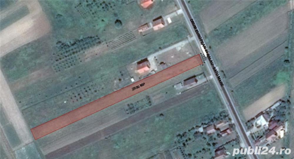 Vand teren intravilan 2900 mp. 12 euro/mp