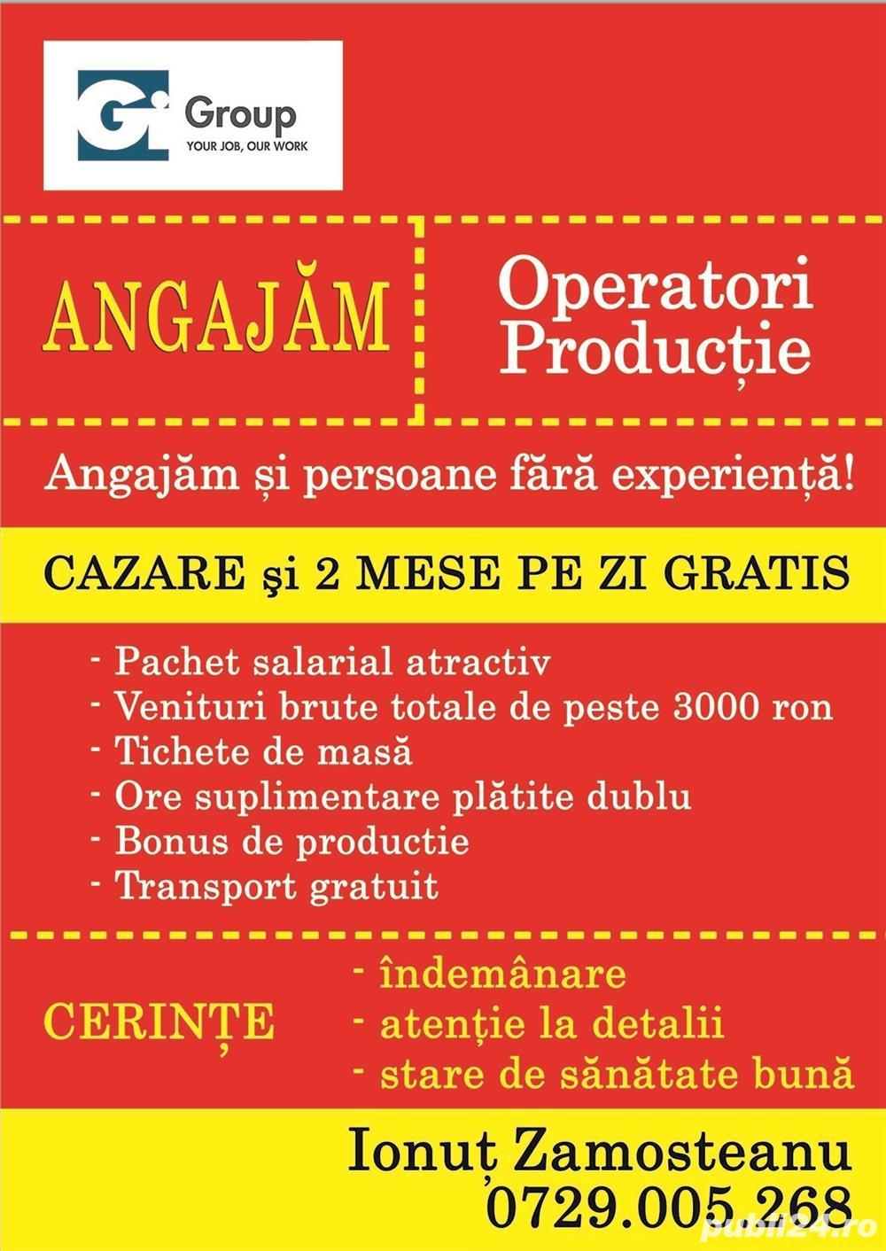 Angajam muncitori necalificați in Timisoara cu cazare si masa oferite gratuit id 70
