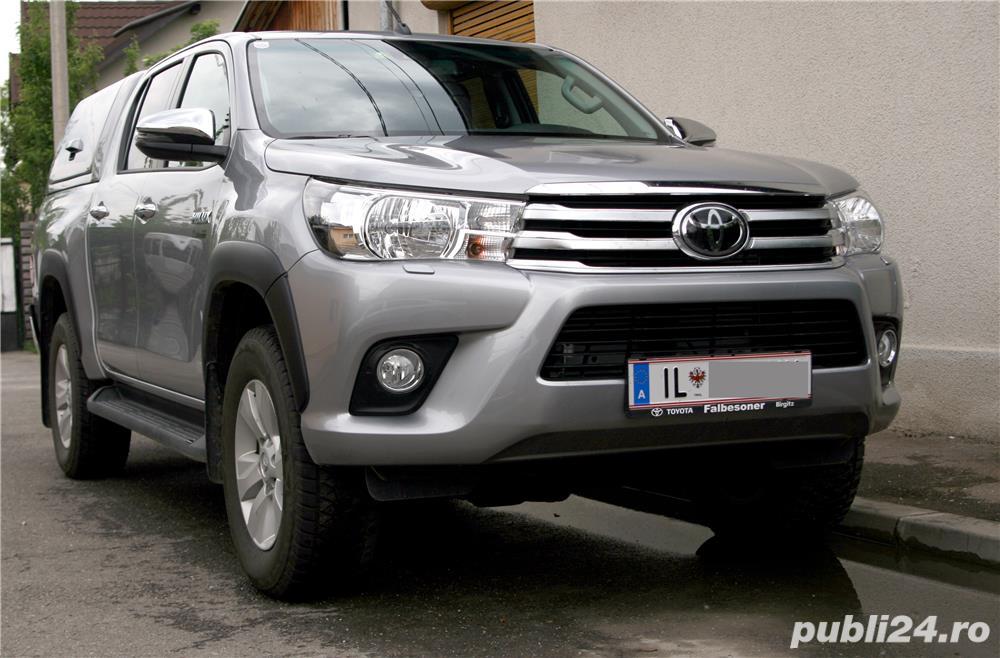Toyota Hilux 2019, hard-top, extra optiuni originale, firma, TVA, garantie