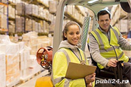 Muncitori logistica Anglia - fara comision