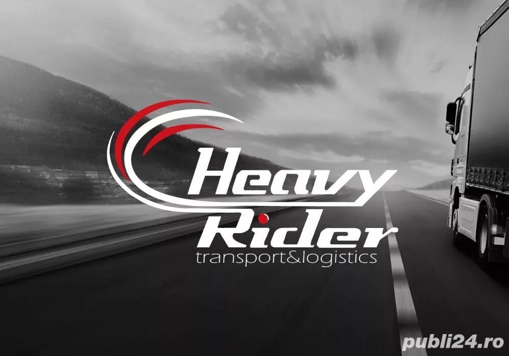 HEAVY RIDER Srl - angajeaza conducator auto profesionist TIR