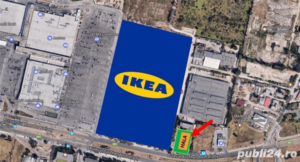 TEREN CU HALA 2014 – IKEA Pallady Bucuresti