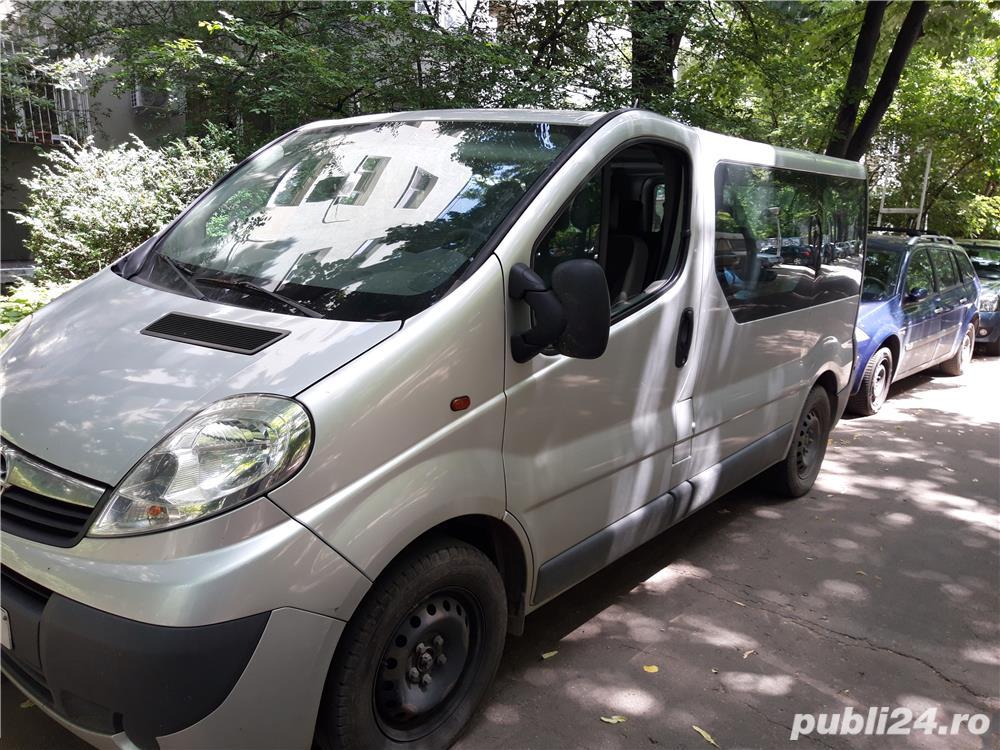 7600euro Opel Vivaro 8+1 Euro5