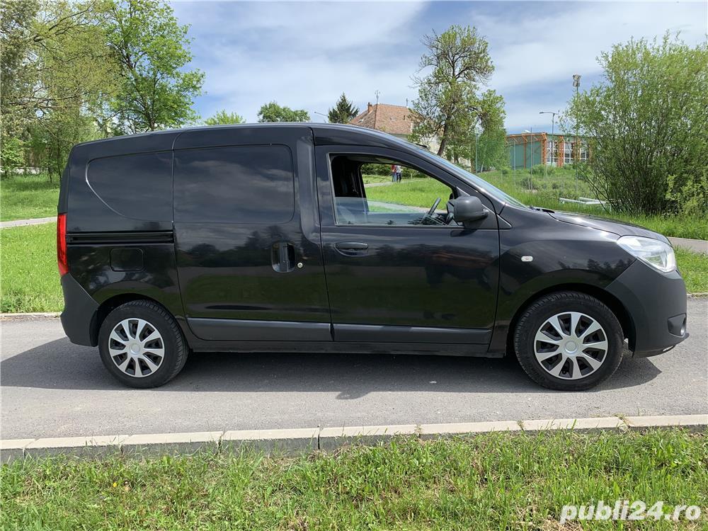 Dacia dokker van-Benzina + GAZ-2 Locuri + marfa anulfab-2014
