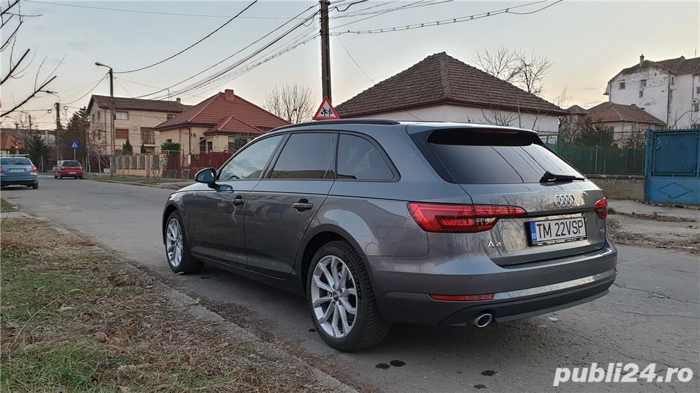 Audi A4 2,0 TDI 150CP/B8/Avant ST7, 5000 km (ca nou), inmatric. 07.2018
