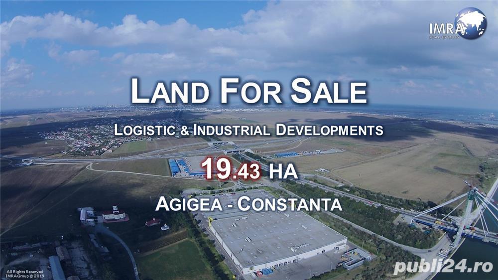 Logistic Land For Sale (19.43 HA) - Agigea (Constanta Harbour Area)
