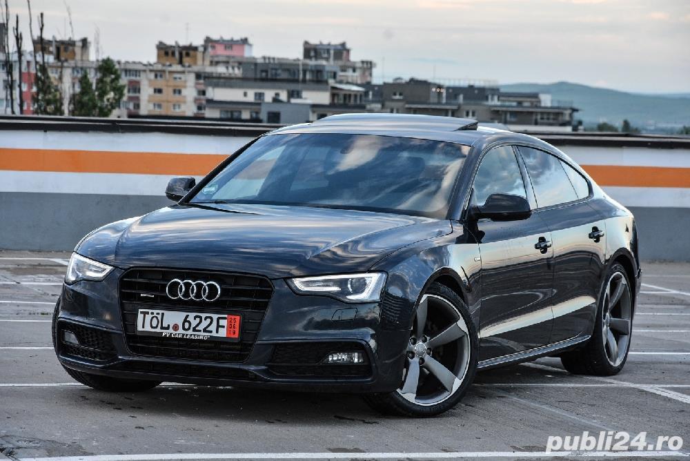 Audi A5 S-line PLUS QUATRO Euro 6 190 cp Trapa 2016