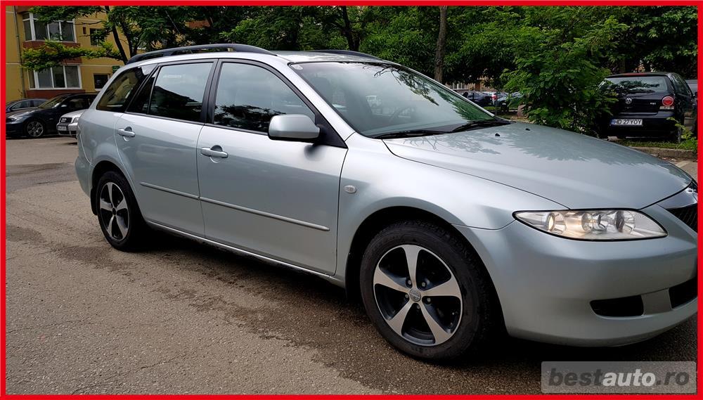 Mazda 6. 2l Tddi 2005 Euro 4 Clima Functionala