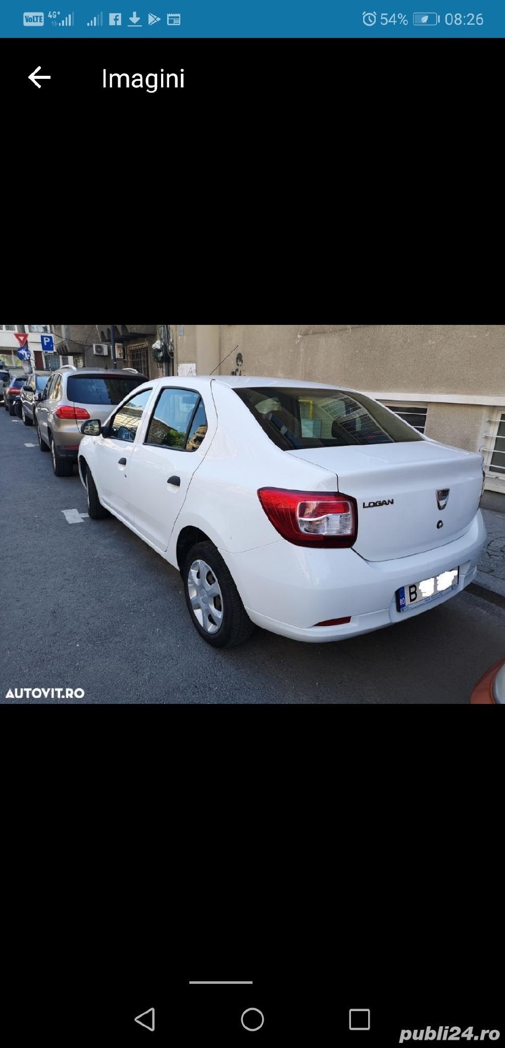 Dacia Logan 2014  4099 + TVA deductibil prim prop 89500 km AC Bluetooth geamuri el carte service