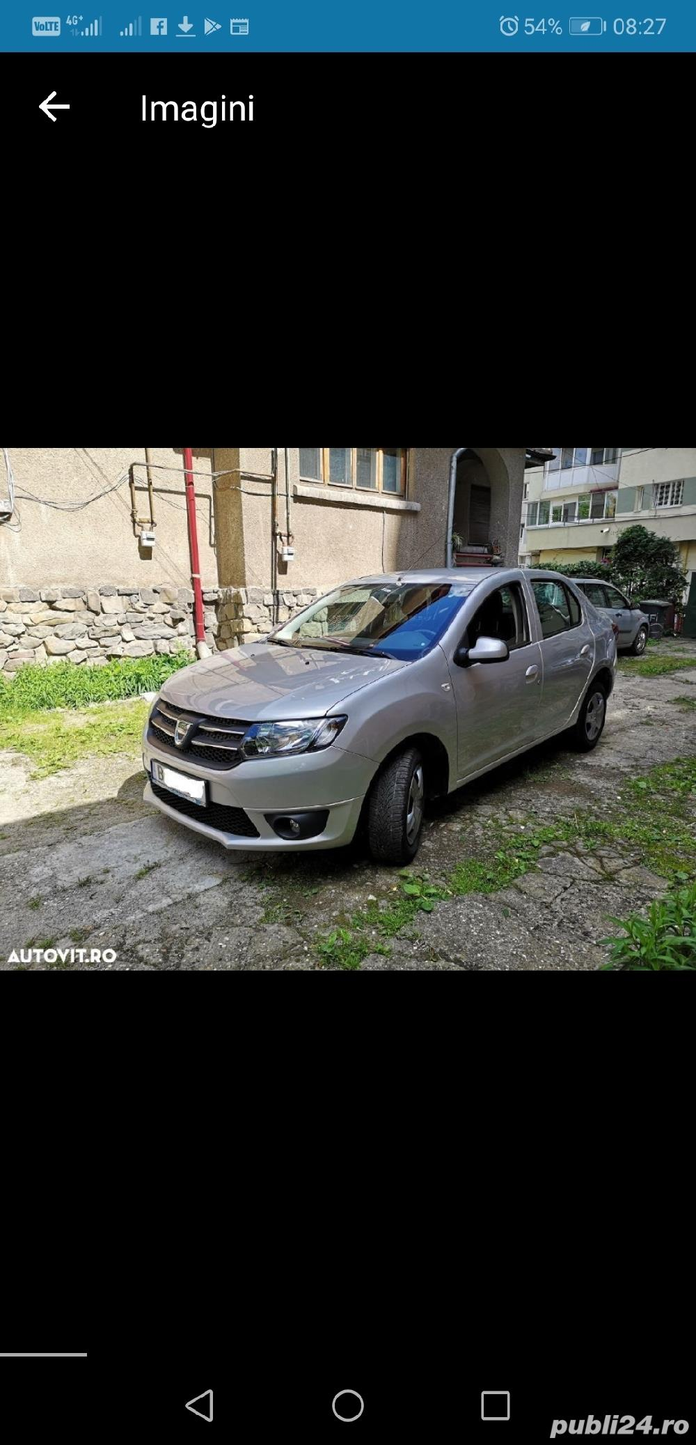 Dacia Logan Laureate 2014 carte service AC Bluetooth Comp Bord 124000 km 4201E + TVA deductibil