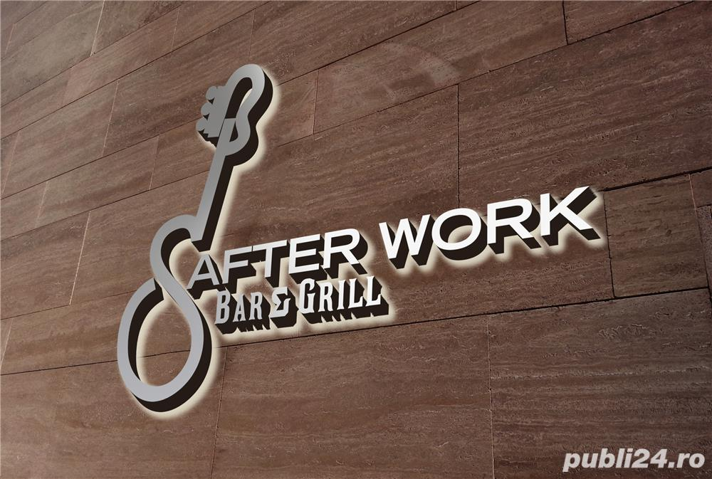 After Work Bar&Grill angajeaza Ospatari si Ospatarite