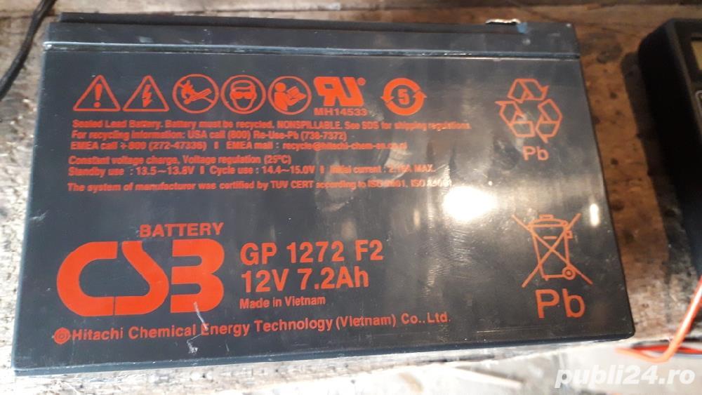 Vind aculatori 12v 7.2 ah