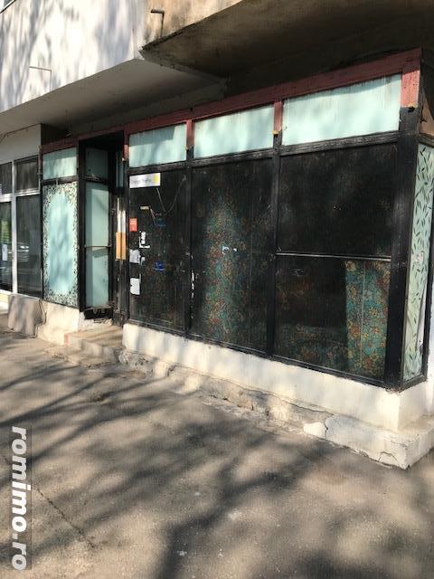 Spatiu comercial de inchiriat la parter bloc cu 4 etaje - Buzau parcul Crang