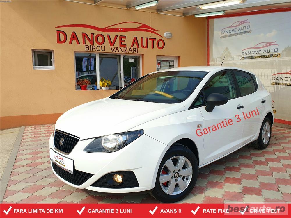 Seat Ibiza,AVANS 0,RATE FIXE,motor 1200 CMC, Benzina,75 CP,Clima,EURO 5.