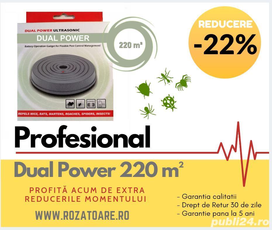 Aparat Profesional Anti insecte si daunatori Dual Power 220 m²