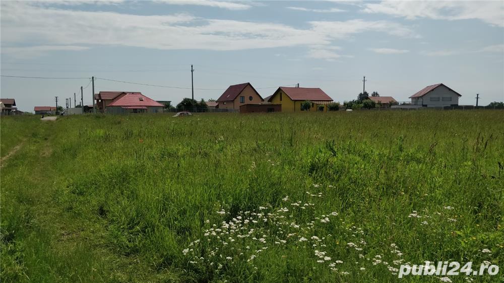 Zona linistita, ideala pentru casa pe care o vrei - noi oferim terenul