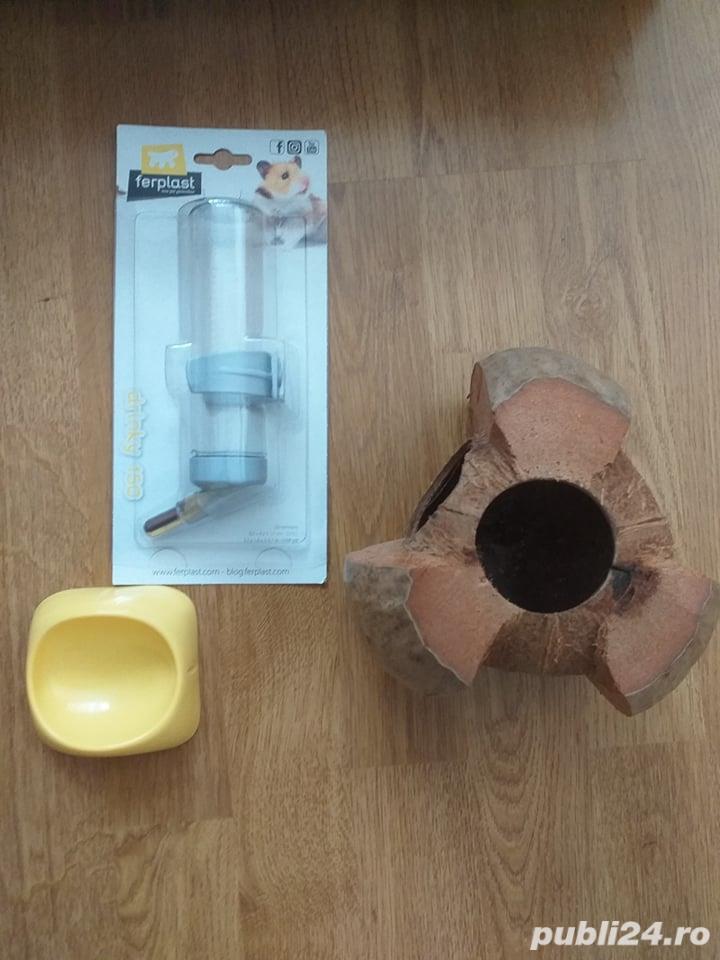 Vand cusca animale rozatoare / pasari, 35x55x55, plus accesorii