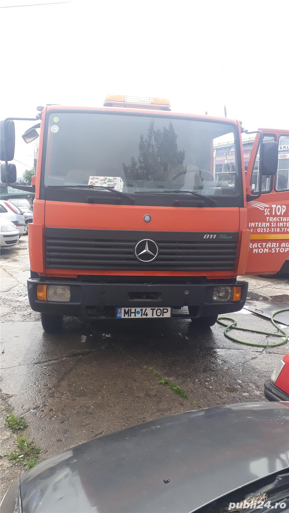Mercedes-benz autoutiliara n2 811