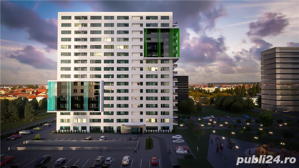 Apartament 3 camere cu 2 bai, 1 logie și dressing în xcity towers