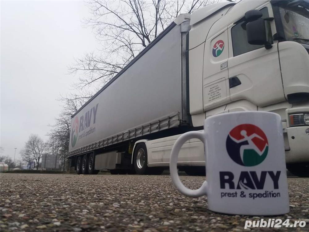 Ravy Prest Sibiu angajează șoferi cu experienta pentru comunitate!!!.