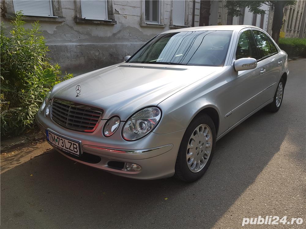 Mercedes-benz E220 - impecabil