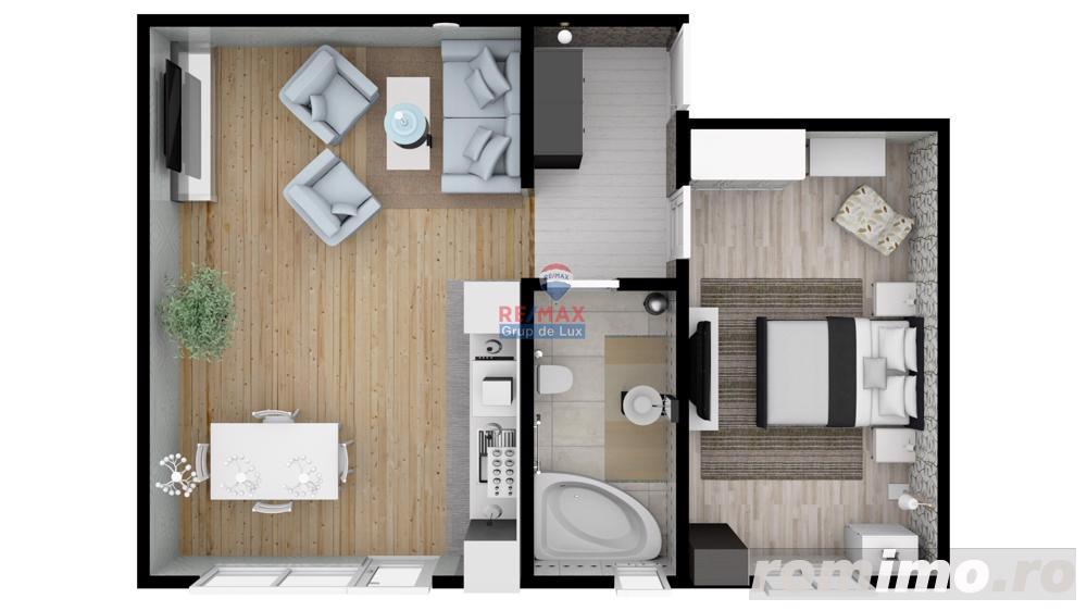 Apartament 2 camere   53mpu. - Proiect exclusivist