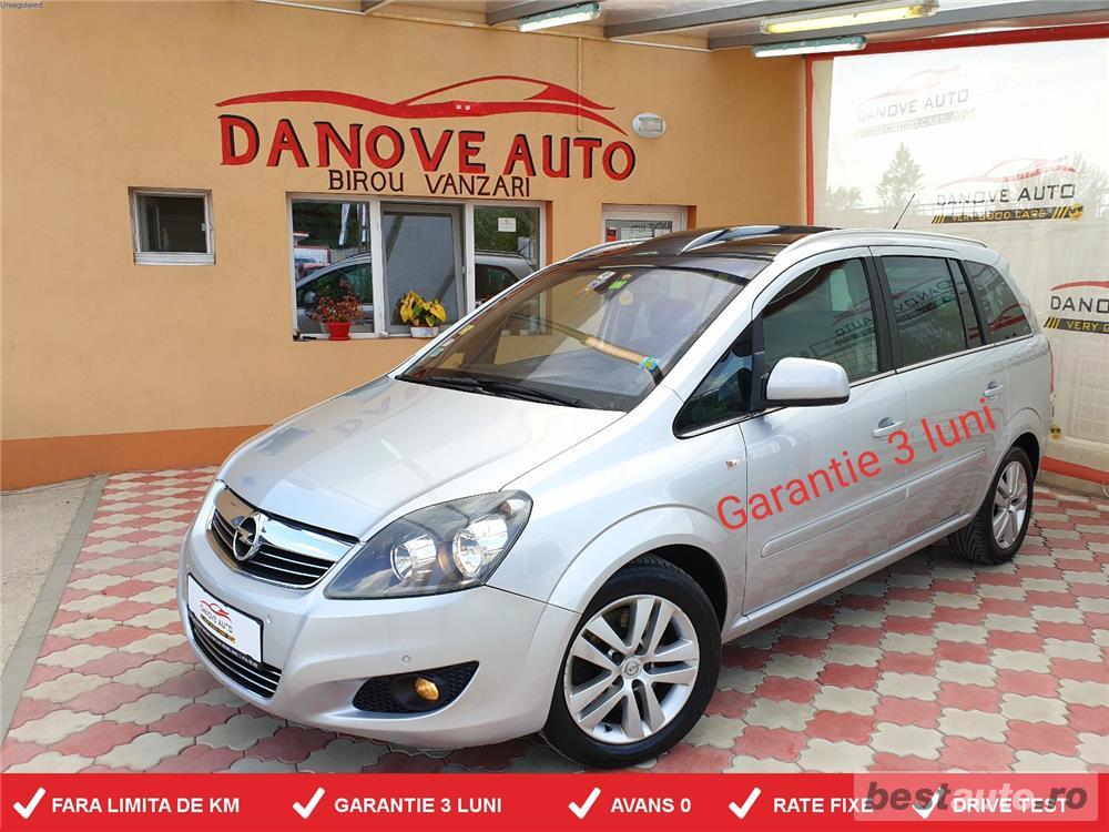 Opel Zafira,GARANTIE 3 LUNI,AVANS 0,RATE FIXE,Motor 1700 CDTI,125CP,Model 7 locuri.