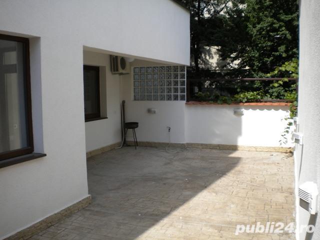 Dorobanti-Liceul Caragiale-apartament superb 3 camere hoch parter cu terasa