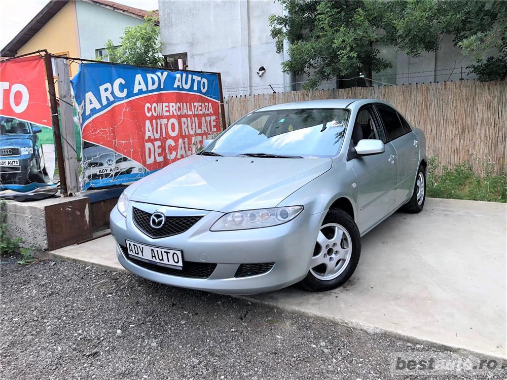 Mazda 6- 2,0d / NAVIGATIE . RATE FIXE , EGALE , FARA AVANS , EURO 4 , CLIMA , RECENT ADUSA