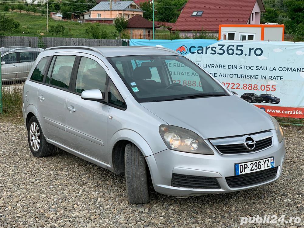 Opel Zafira 1.9 CDTI Enjoy, 2006 - posibilitate RATE PERSOANE FIZICE