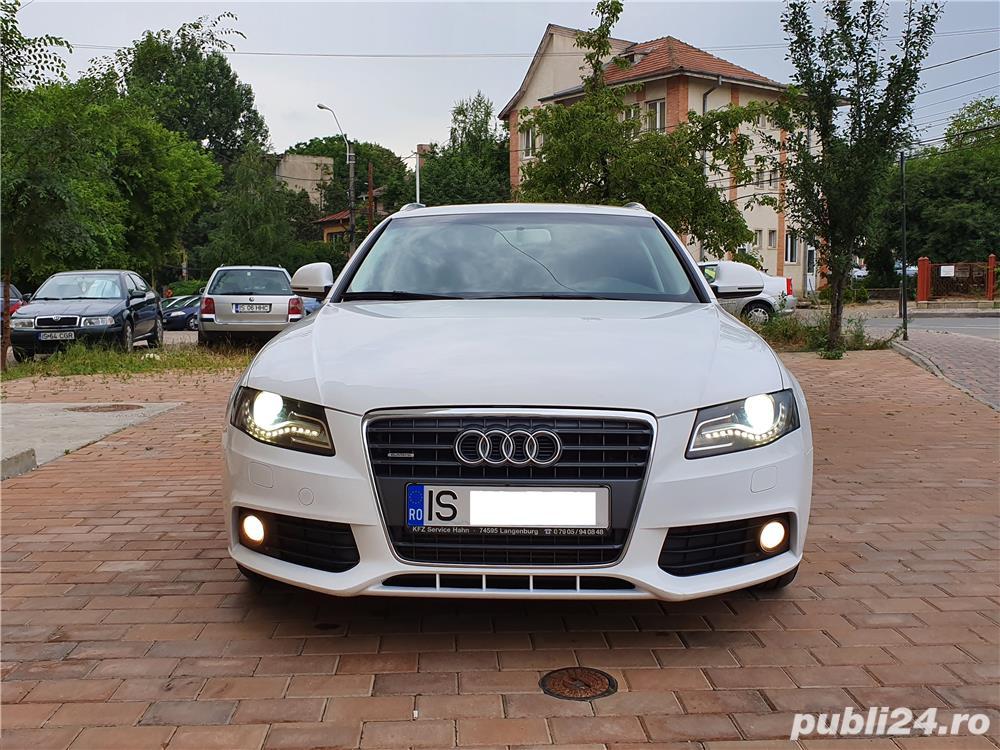 Audi A4 s-line quattro (4x4) fab.2009, euro 5 ,impecabil , 2.0 TDI ,