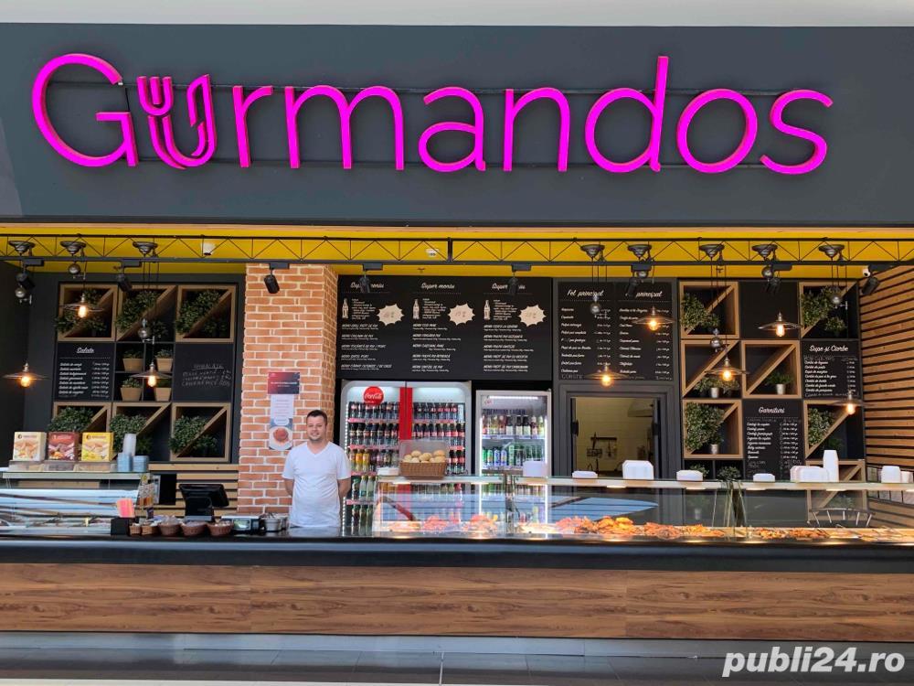 Gurmandos Shopping City Timisoara angajeaza: