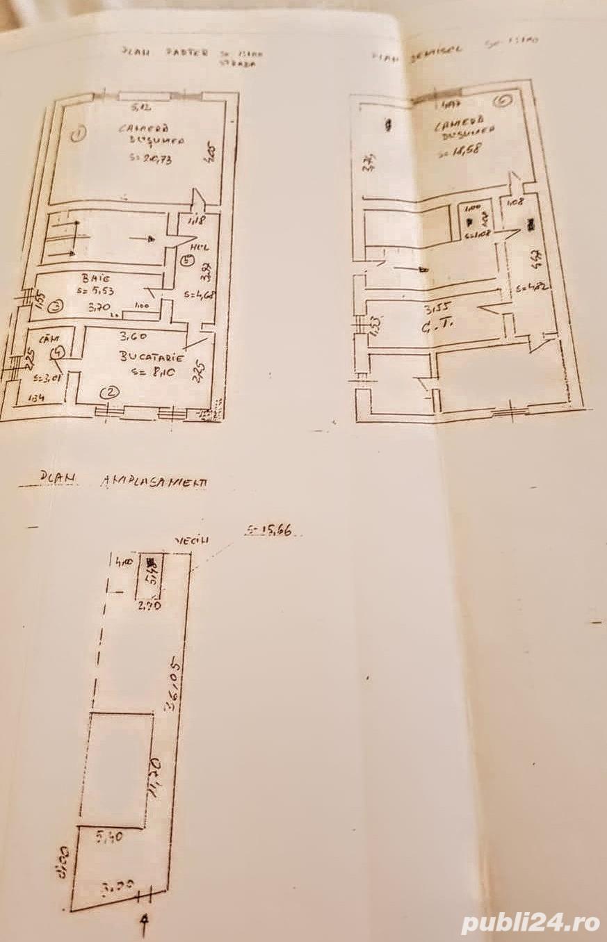 apartament la casa,demisol+parter,curte,garaj,pivnita,cartier Strand, Sibiu