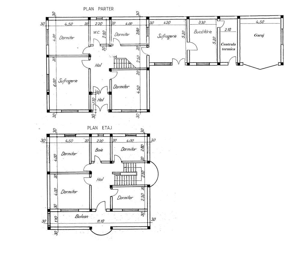 Vila / casa situata in Unirea Odobesti centru