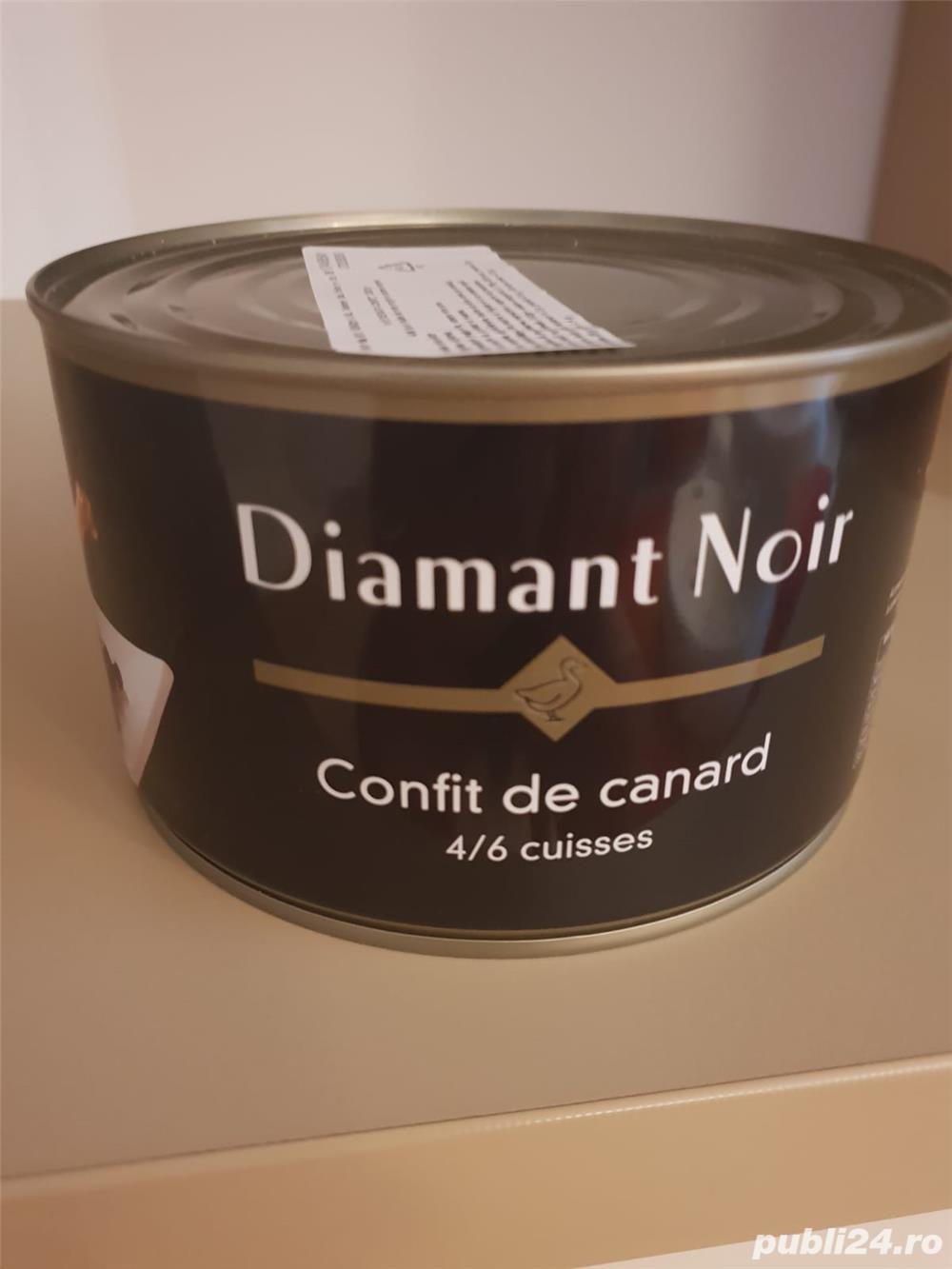 Pulpe rață confiate Diamant Noir si Palmilord de foarte bună calitate
