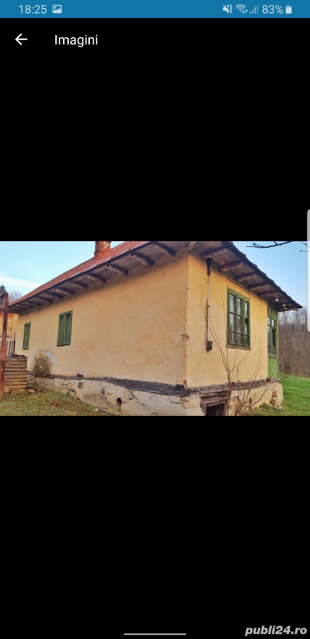 Casa batraneasca +teren de vanzare