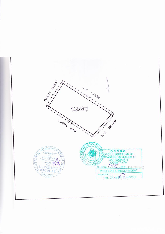 teren intravilan construibil, suprafata 600mp, langa strada Comarnic - Vila Cucoanei