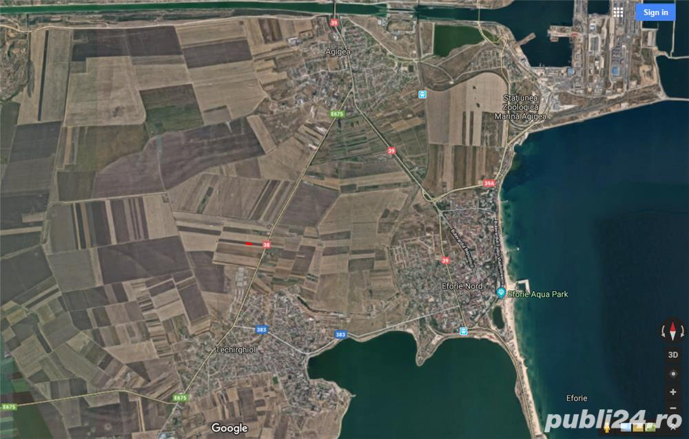teren agricol extravilan Agigea-Techirghiol