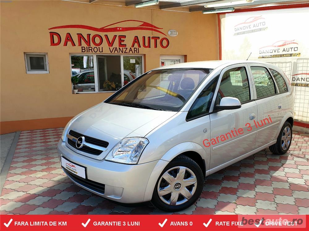 Opel Meriva,GARANTIE 3 LUNI,AVANS 0,RATE FIXE,Motor 1400 Cmc,90CP,Climatronic.