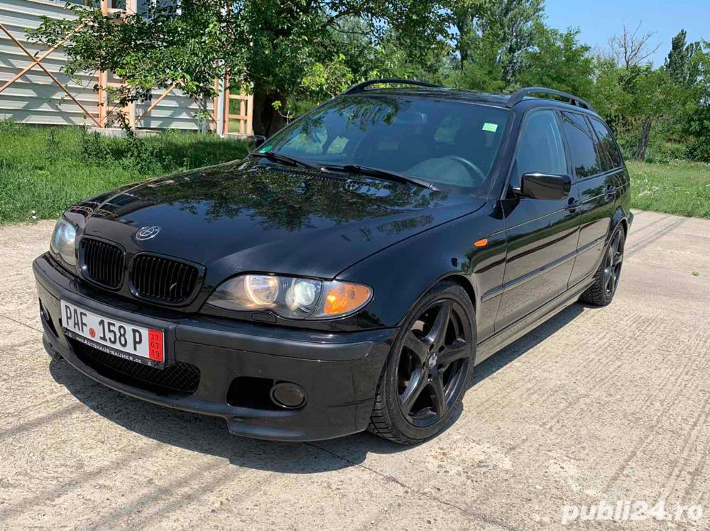 *Rate*Bmw 320D M-Packet, an 2005, Piele, Trapa