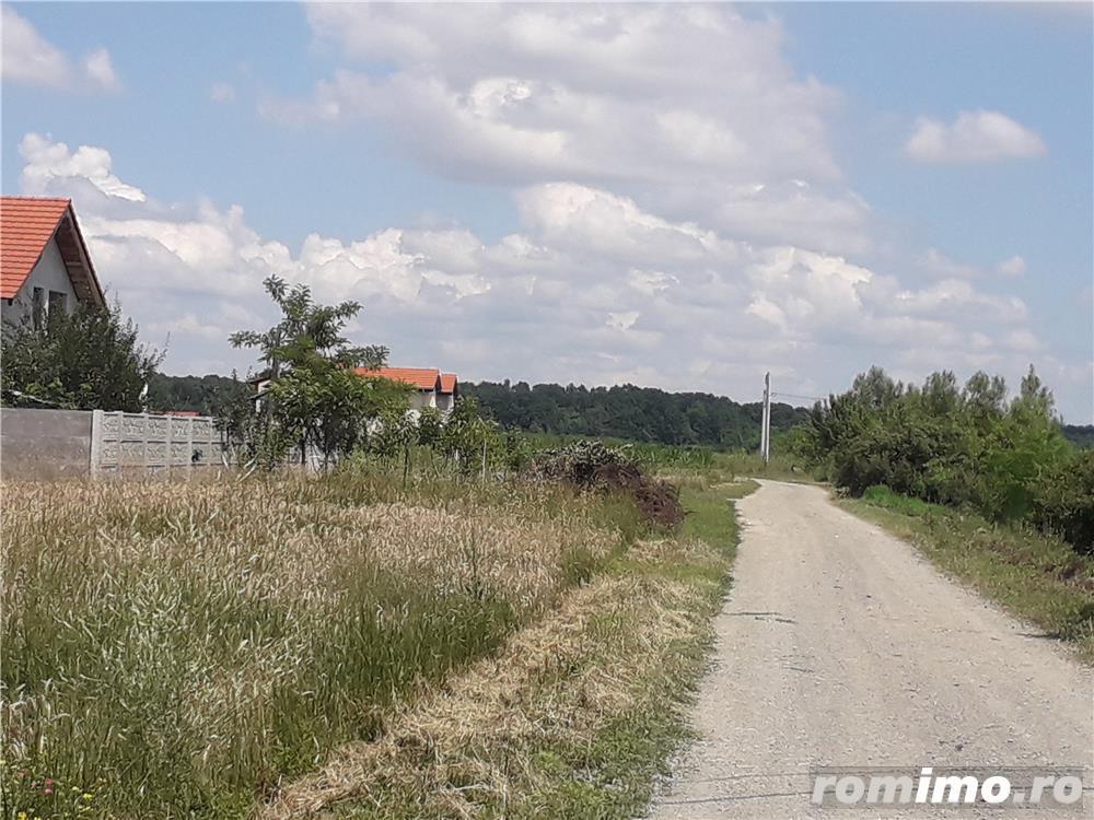 Teren  Mosnita Noua aproape de drunul asfaltat Calea Urseni