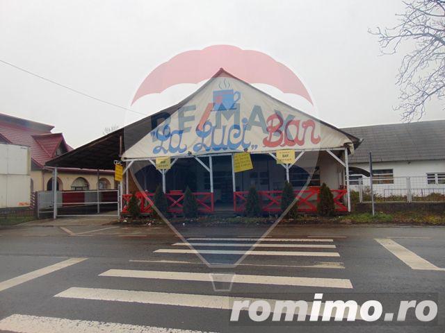 Hala (spațiu comercial)+teren intravilan în localitatea Crăciunești