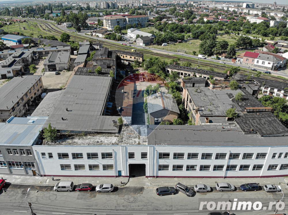 Complex de 9.293mp pretabil pentru birouri pe Calea Clujului