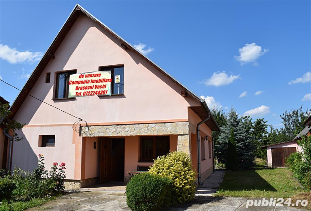 Casa noua, 145 mp utili, teren 1.050 mp, Bod, tel. 0722244301.