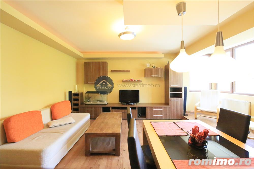 Startimob - Inchiriez apartament mobilat 3 camere Central Brasov