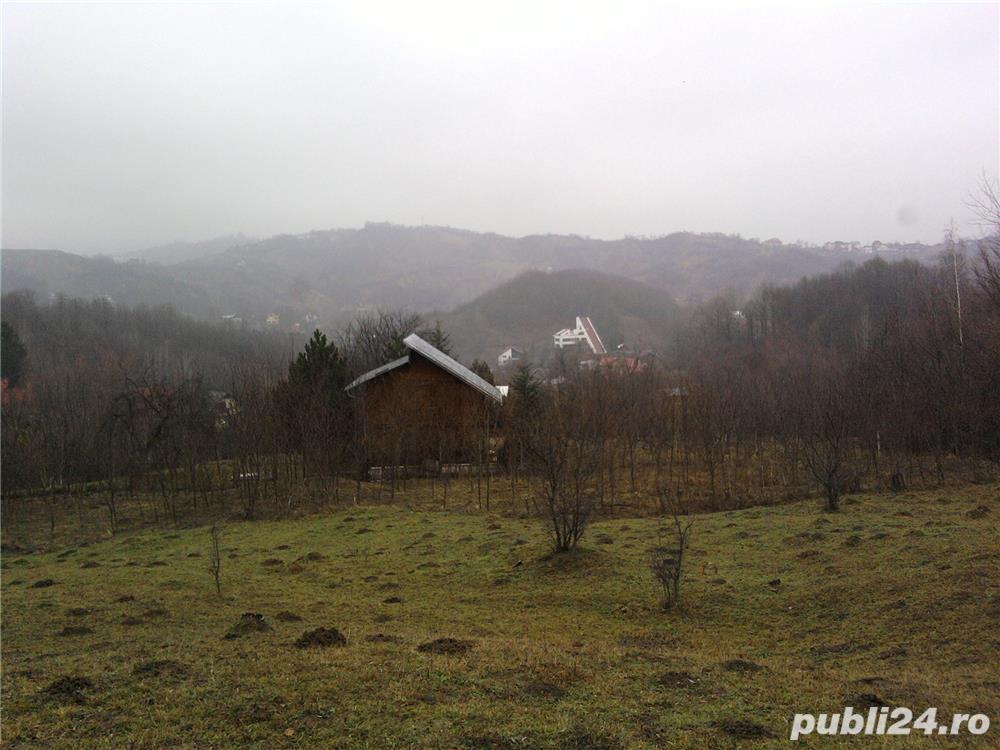 Teren vedere splendida,o gura de rai 2173 mp. intravilan Breaza,Prahova