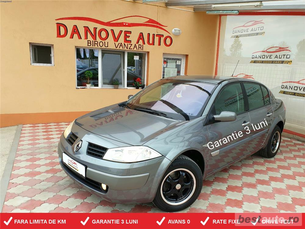Renault Megane,GARANTIE 3 LUNI,AVANS 0,RATE FIXE,Motor 1600 cmc,Benzina,115 CP,Clima